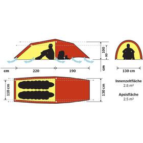 Hilleberg Anjan 2 GT teltta , punainen